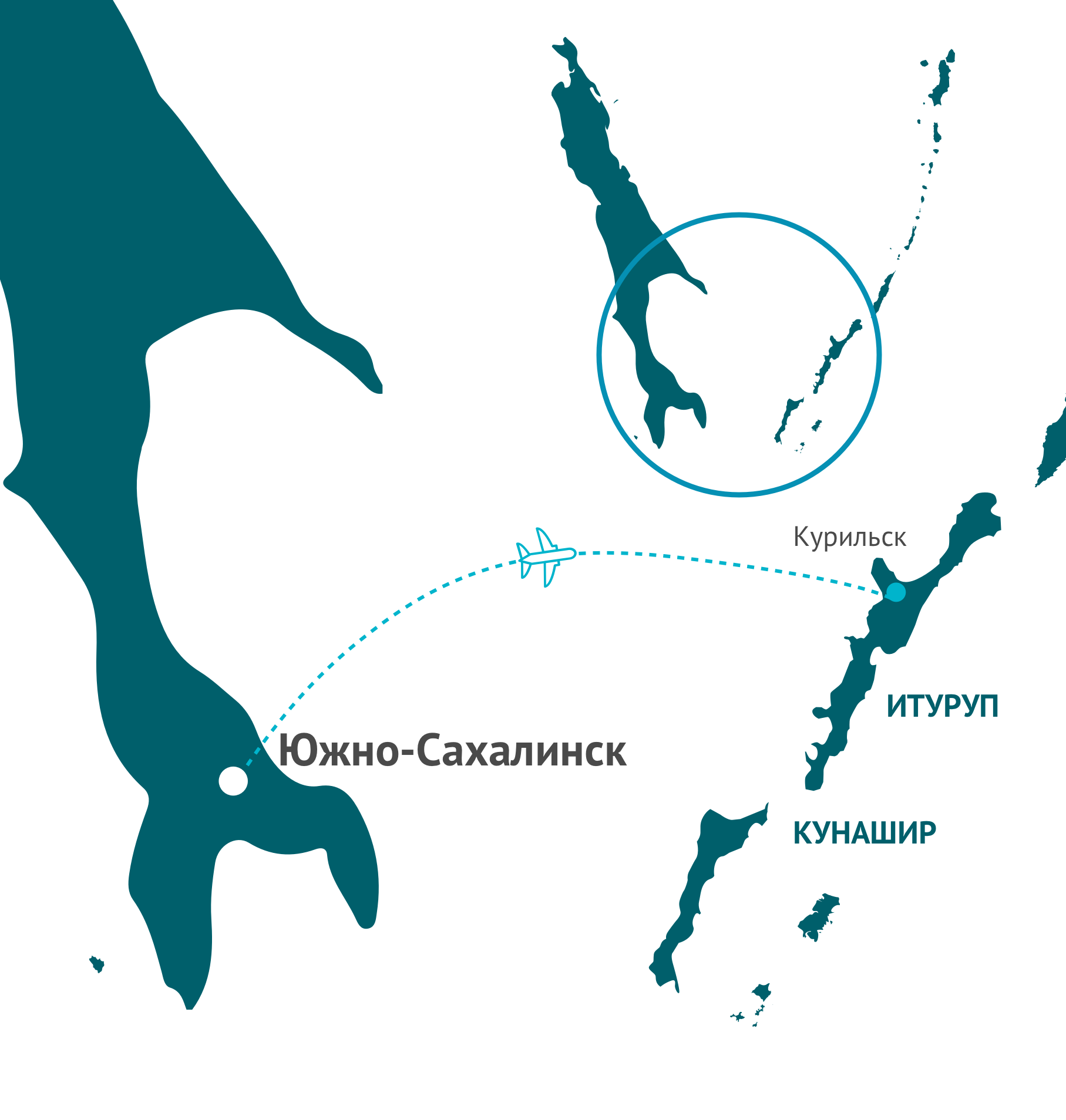 excursion map